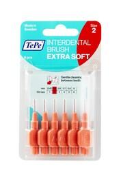 TePe - TEPE Blister X-Soft 0.5 mm - KIRMIZI (6 lı paket)